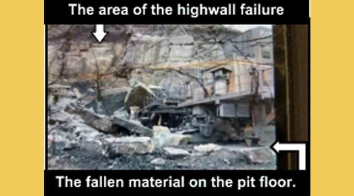 highwall failure bulletin