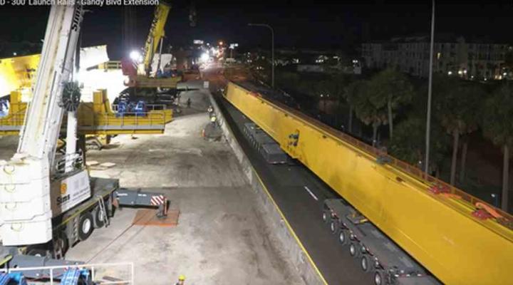 Sims Crane Heavy Lifting Video