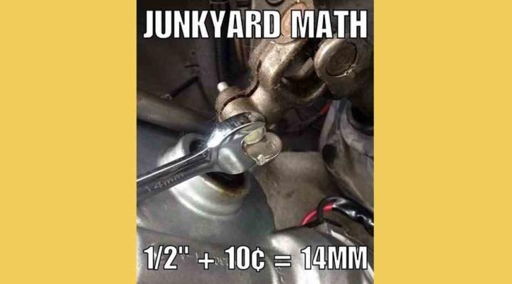 junkyard math